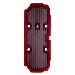 Komfortní sedlo Shad vyhřívané černozelené šedočervené švy Piaggio MP3 LT 400 2009 – 2013