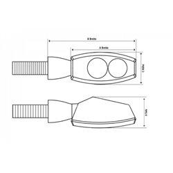 Montážní sada – nosič držák navigace smart bar Kappa Honda NC 750 S DCT 2014 – 2015 K2659-02SKIT